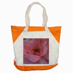 Pink Rose Accent Tote Bag