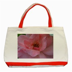 Pink Rose Classic Tote Bag (Red)