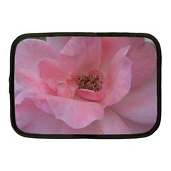 Pink Rose Netbook Case (Medium)