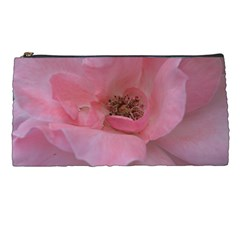 Pink Rose Pencil Cases by timelessartoncanvas