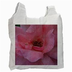 Pink Rose Recycle Bag (One Side)