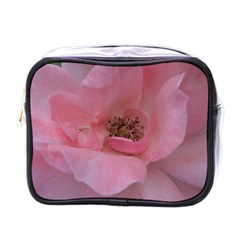 Pink Rose Mini Toiletries Bags