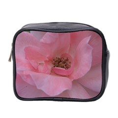 Pink Rose Mini Toiletries Bag 2-Side