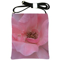 Pink Rose Shoulder Sling Bags