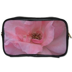 Pink Rose Toiletries Bags 2-Side