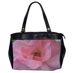 Pink Rose Office Handbags (2 Sides)