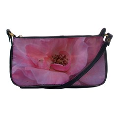 Pink Rose Shoulder Clutch Bags
