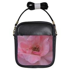 Pink Rose Girls Sling Bags