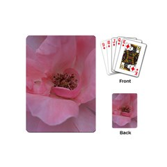Pink Rose Playing Cards (Mini)