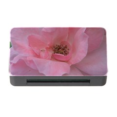 Pink Rose Memory Card Reader with CF
