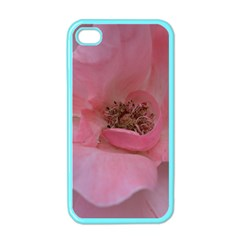 Pink Rose Apple iPhone 4 Case (Color)
