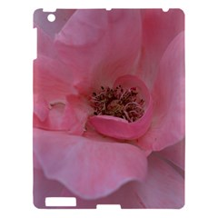 Pink Rose Apple iPad 3/4 Hardshell Case