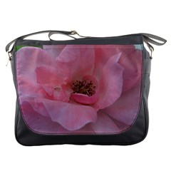 Pink Rose Messenger Bags