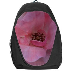 Pink Rose Backpack Bag