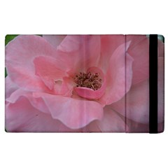 Pink Rose Apple iPad 3/4 Flip Case