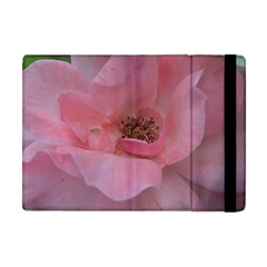 Pink Rose Apple iPad Mini Flip Case