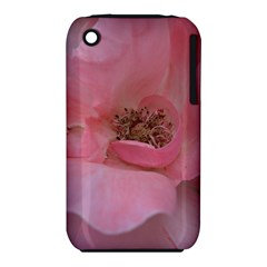 Pink Rose Apple iPhone 3G/3GS Hardshell Case (PC+Silicone)