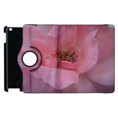 Pink Rose Apple iPad 2 Flip 360 Case