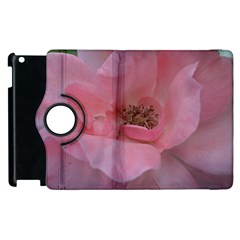 Pink Rose Apple iPad 3/4 Flip 360 Case