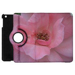 Pink Rose Apple iPad Mini Flip 360 Case