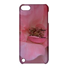 Pink Rose Apple iPod Touch 5 Hardshell Case with Stand