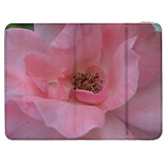Pink Rose Samsung Galaxy Tab 7  P1000 Flip Case by timelessartoncanvas