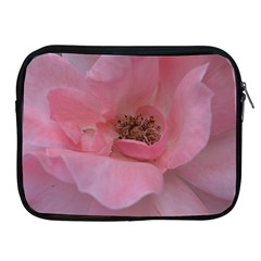 Pink Rose Apple iPad 2/3/4 Zipper Cases
