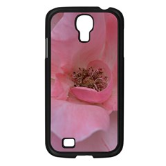 Pink Rose Samsung Galaxy S4 I9500/ I9505 Case (Black)