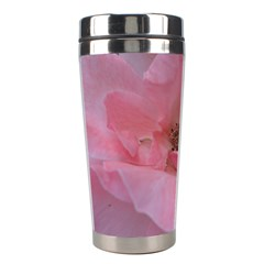 Pink Rose Stainless Steel Travel Tumblers