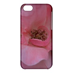 Pink Rose Apple iPhone 5C Hardshell Case