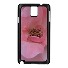 Pink Rose Samsung Galaxy Note 3 N9005 Case (Black)