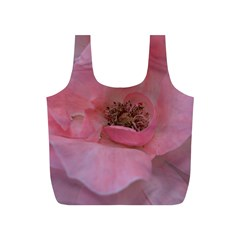 Pink Rose Full Print Recycle Bags (S)