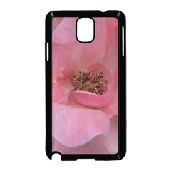 Pink Rose Samsung Galaxy Note 3 Neo Hardshell Case (Black)