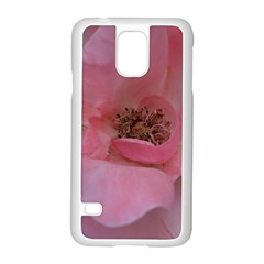 Pink Rose Samsung Galaxy S5 Case (White)