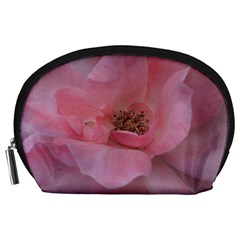 Pink Rose Accessory Pouches (Large)