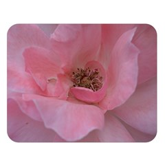 Pink Rose Double Sided Flano Blanket (Large)