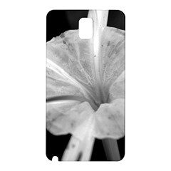 Exotic Black And White Flower 2 Samsung Galaxy Note 3 N9005 Hardshell Back Case