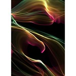 Glowing, Colorful  Abstract Lines BOY 3D Greeting Card (7x5) Inside