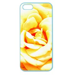 Orange Yellow Rose Apple Seamless Iphone 5 Case (color) by timelessartoncanvas