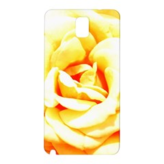 Orange Yellow Rose Samsung Galaxy Note 3 N9005 Hardshell Back Case by timelessartoncanvas