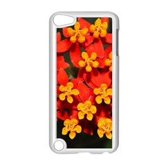 Orange And Red Weed Apple Ipod Touch 5 Case (white) by timelessartoncanvas
