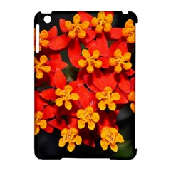 Orange and Red Weed Apple iPad Mini Hardshell Case (Compatible with Smart Cover) by timelessartoncanvas
