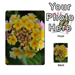 Colorful Flowers Multi Purpose Cards (rectangle)