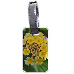 Colorful Flowers Luggage Tags (two Sides) by timelessartoncanvas
