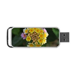 Colorful Flowers Portable Usb Flash (one Side) by timelessartoncanvas