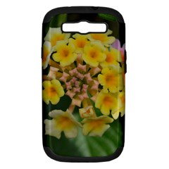 Colorful Flowers Samsung Galaxy S Iii Hardshell Case (pc+silicone) by timelessartoncanvas