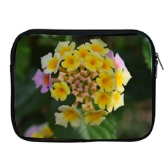 Colorful Flowers Apple Ipad 2/3/4 Zipper Cases by timelessartoncanvas