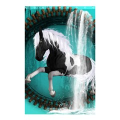 Beautiful Horse With Water Splash  Shower Curtain 48  X 72  (small)  by FantasyWorld7