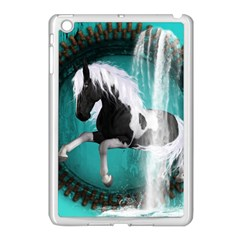 Beautiful Horse With Water Splash  Apple Ipad Mini Case (white) by FantasyWorld7