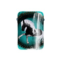 Beautiful Horse With Water Splash  Apple Ipad Mini Protective Soft Cases by FantasyWorld7